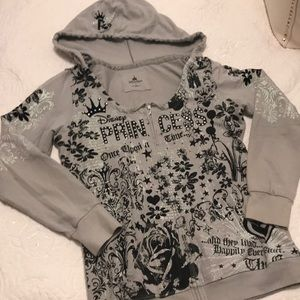 -DISNEY- Princess zip up hoodie